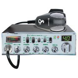 Mobile CB Radio With Dynamike Gain Control And SWR Antenna Calibration And NightWatch Illuminated Display With Dimmer Control