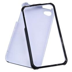 Skull Case/ Screen Protector for Apple iPhone 4