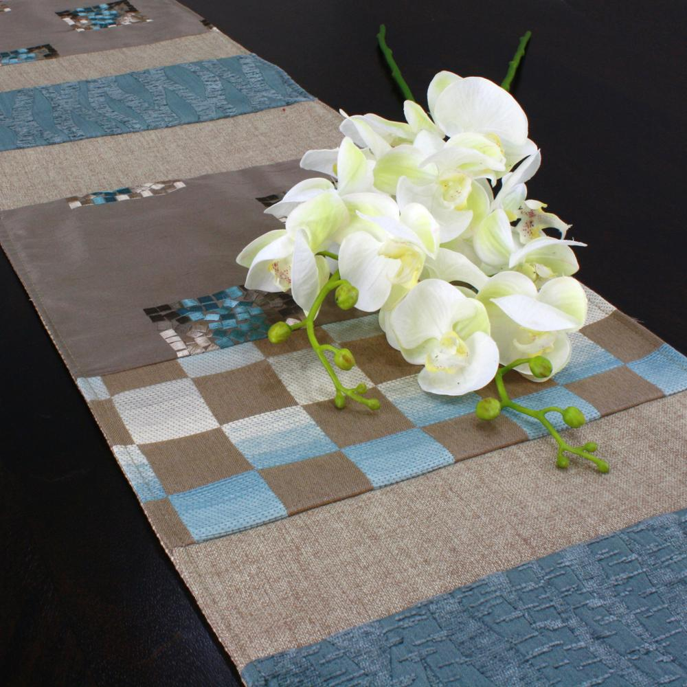 Theory Spa Reversible Pieced 13x72-inch Table Runner