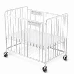 Chelsea White Compact Crib