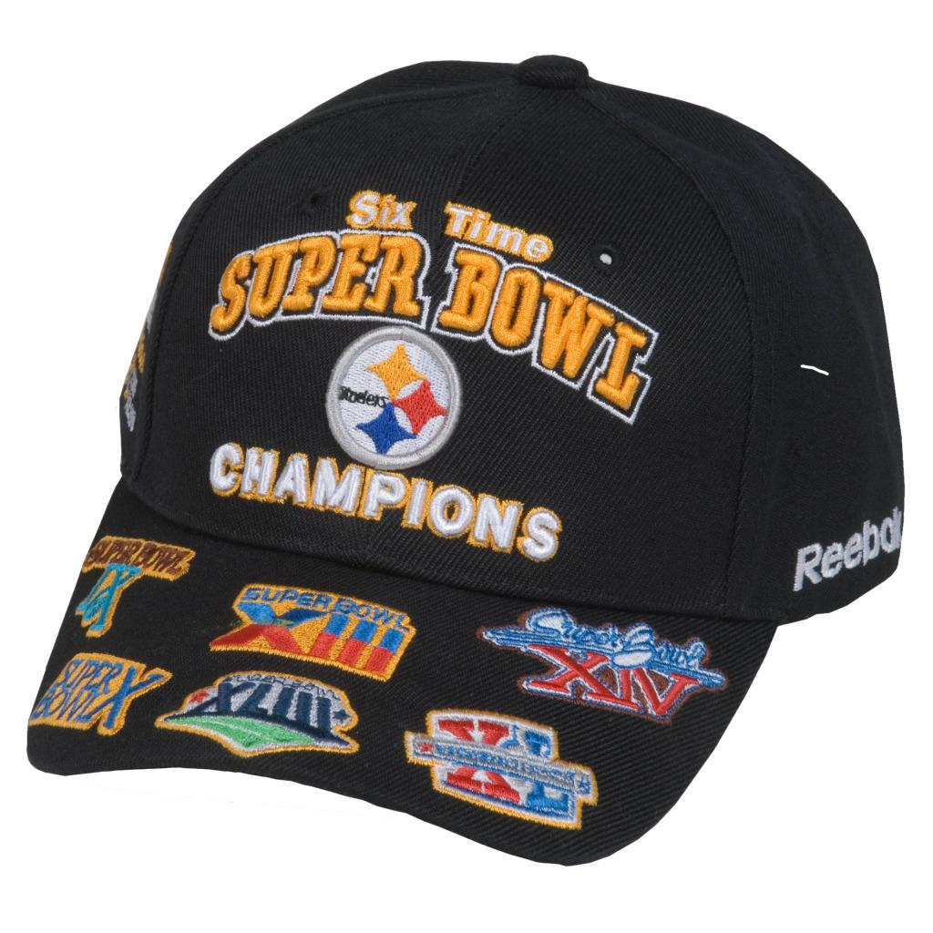 96175645e38 Shop Reebok Pittsburgh Steelers Commemorative Super Bowl Hat - Free  Shipping On Orders Over  45 - Overstock - 5738335