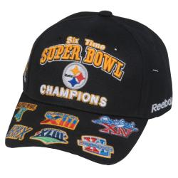 ea89f6c724b Shop Reebok Pittsburgh Steelers Commemorative Super Bowl Hat - Free Shipping  On Orders Over  45 - Overstock - 5738335
