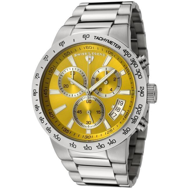 Swiss Legend Men's 'Endurance' Stainless Steel Chronograph Watch