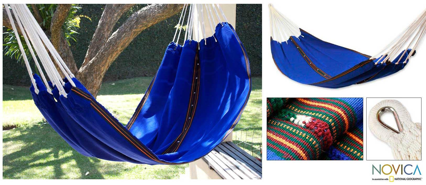 Cotton 'My Nation' Hammock (Guatemala)