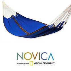 Cotton 'My Nation' Hammock (Guatemala) - Thumbnail 1