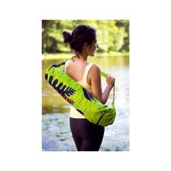 Dutch Wax Cloth African Print Yoga Bag (Rwanda)