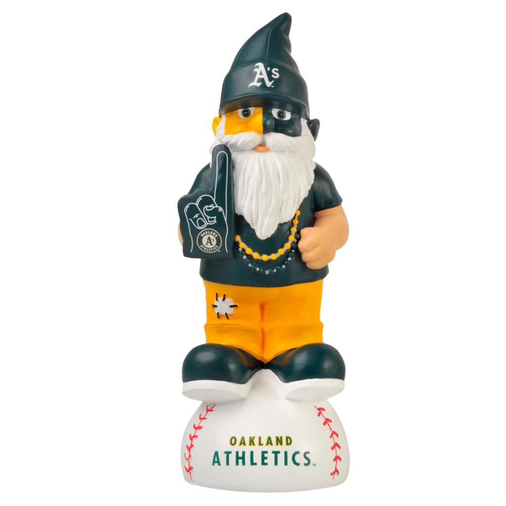 Oakland Athletics 11-inch Thematic Garden Gnome - Thumbnail 0