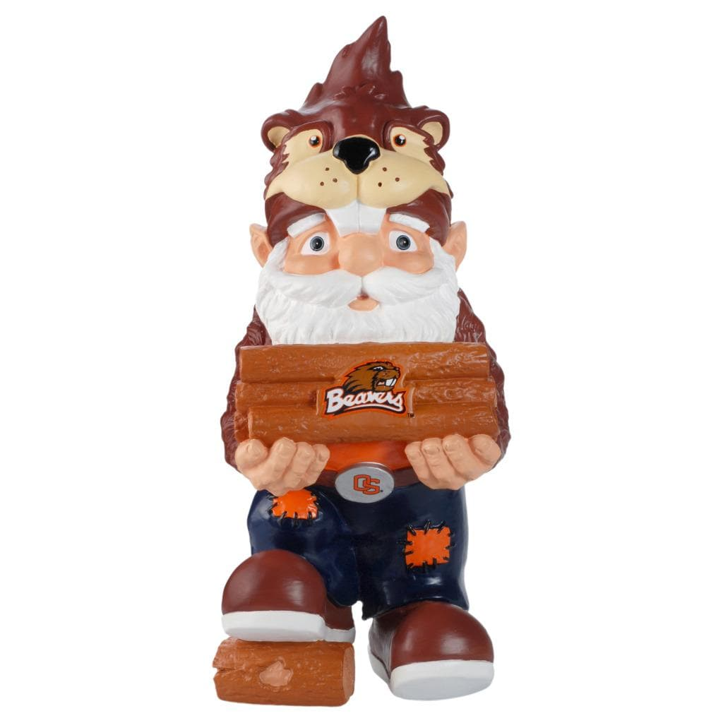 Oregon State Beavers 11-inch Thematic Garden Gnome