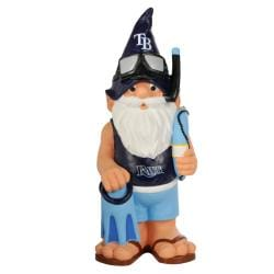 Forever Collectibles Tampa Bay Rays 11-inch Thematic Garden Gnome - Thumbnail 1