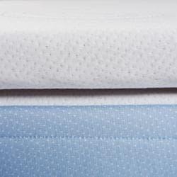 Invigo Fresh Natural Latex and Foam 2-inch Full-size Mattress Topper - Thumbnail 2