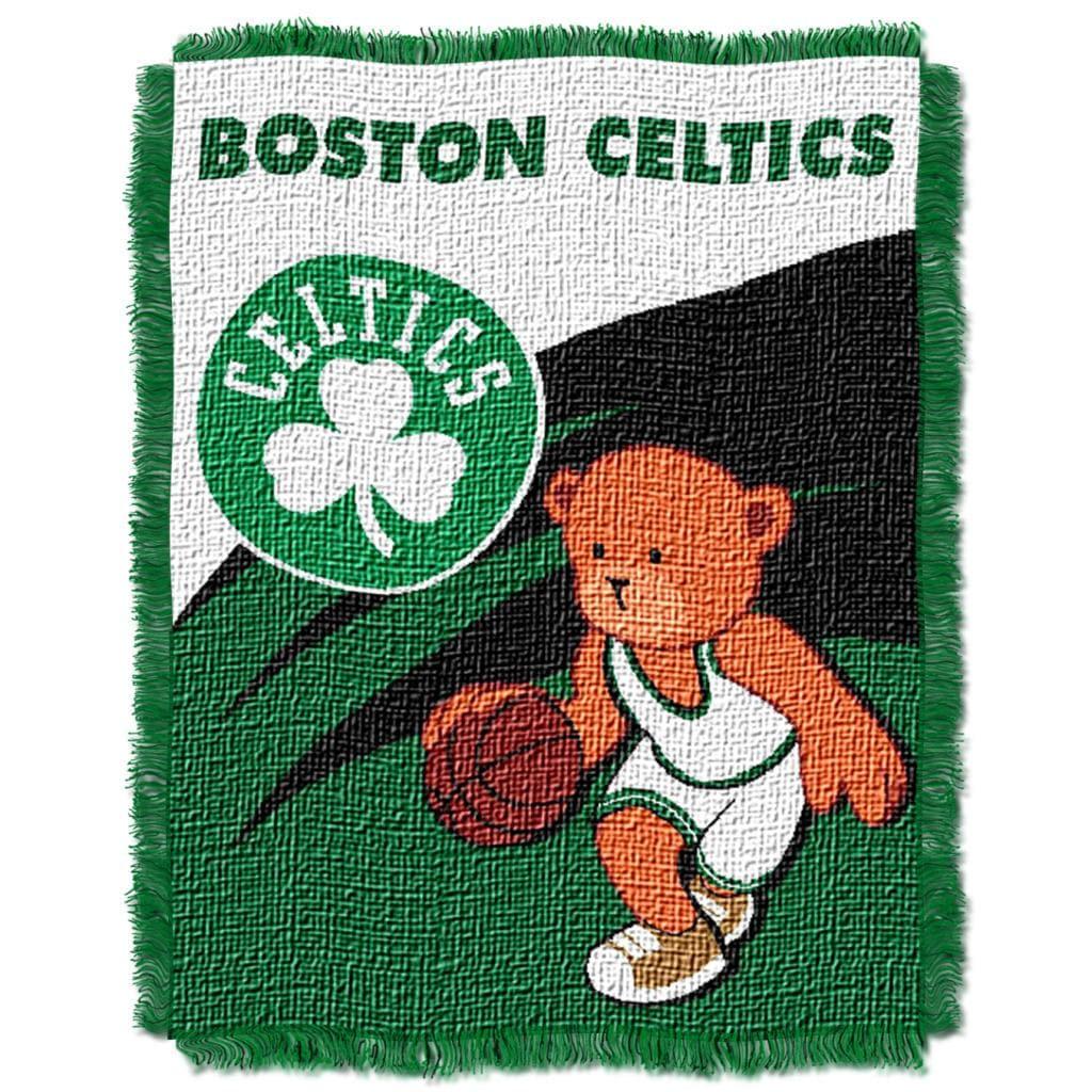 Northwest Boston Celtics Woven Jacquard Acrylic Baby Blanket