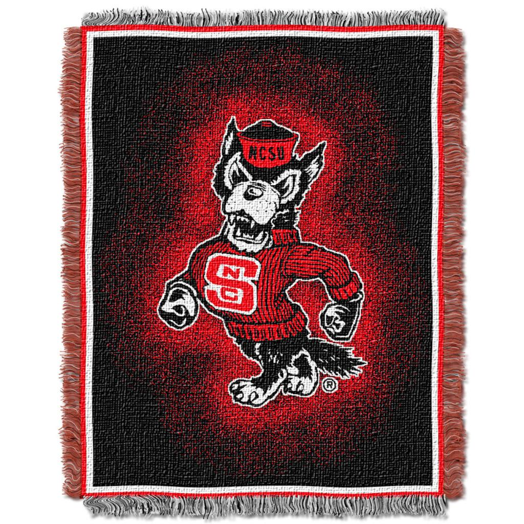 Northwest North Carolina Tar Heels Focus Jacquard Throw