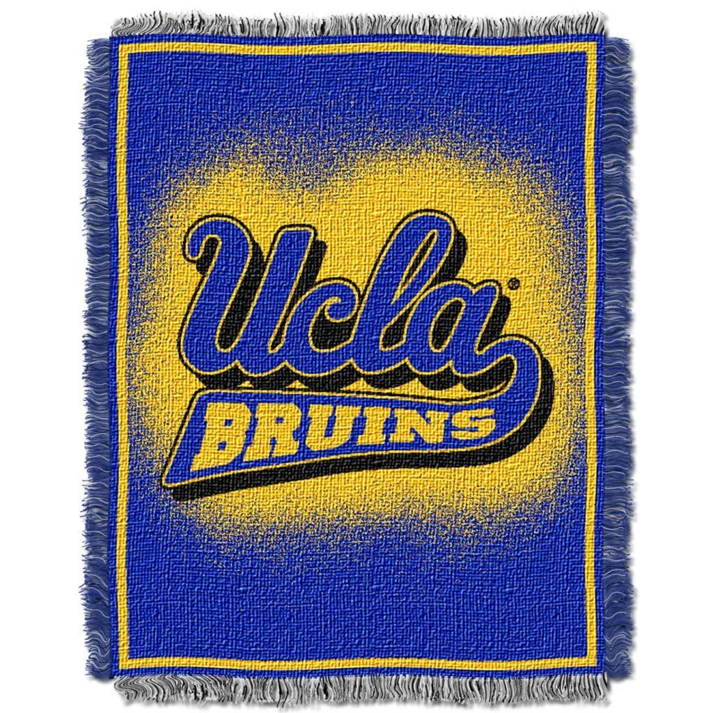 Northwest UCLA Bruins Focus Jacquard Throw