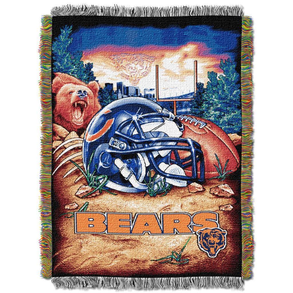 Northwest Chicago Bears Homefield Tapestry Throw