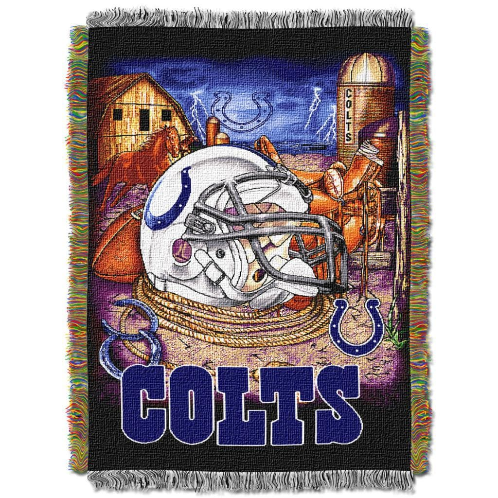 Northwest Indianapolis Colts Homefield Tapestry Throw