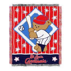 Northwest St. Louis Cardinals Woven Jacquard Acrylic Baby Blanket - Thumbnail 1