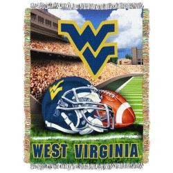 Northwest West Virginia Mountaineers Homefield Tapestry Throw - Thumbnail 1