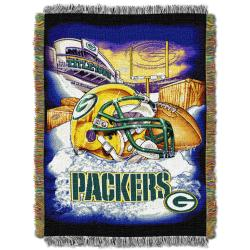Northwest Green Bay Packers Homefield Tapestry Throw - Thumbnail 1