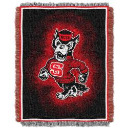 Northwest North Carolina Tar Heels Focus Jacquard Throw - Thumbnail 2