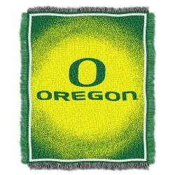 Northwest Oregon Ducks Focus Jacquard Throw - Thumbnail 2