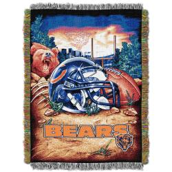 Northwest Chicago Bears Homefield Tapestry Throw - Thumbnail 2