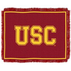 Northwest USC Trojans Focus Jacquard Throw - Thumbnail 0