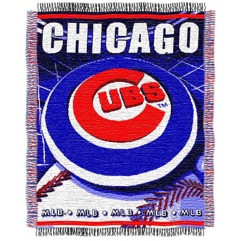 Northwest Chicago Cubs Woven Jacquard Blanket