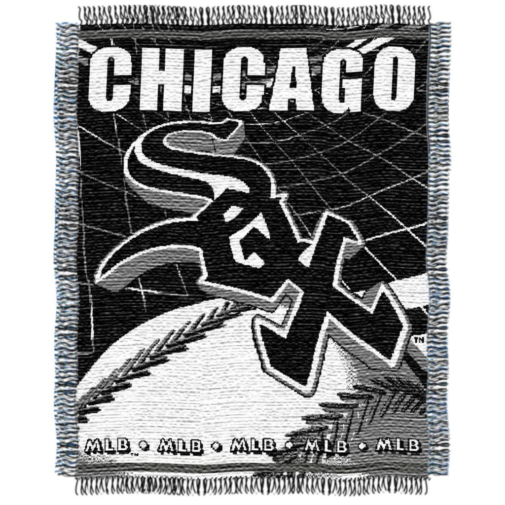 Northwest Chicago White Sox Woven Jacquard Blanket