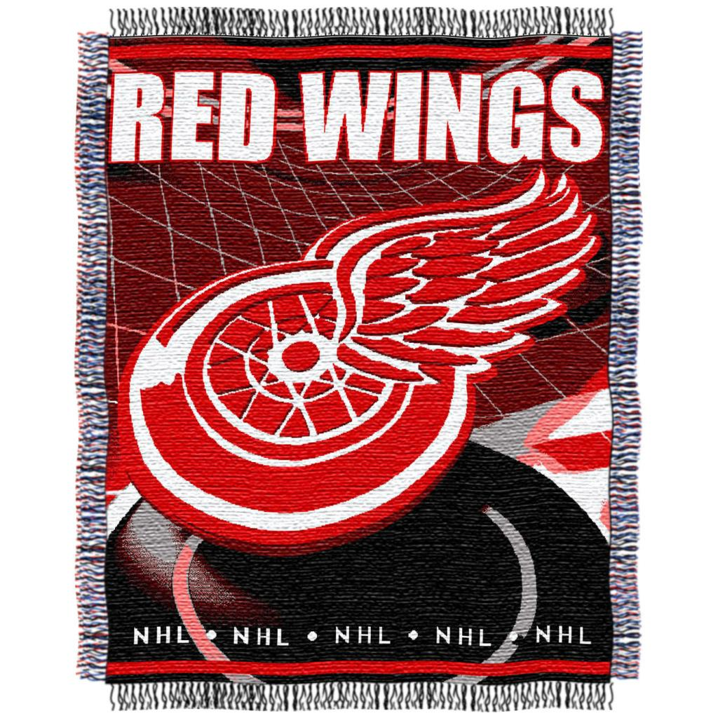 Northwest Detroit Red Wings Woven Jacquard Blanket - Thumbnail 0
