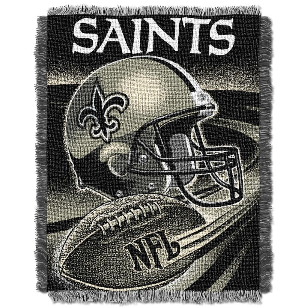 Northwest New Orleans Saints Spiral Woven Jacquard Throw