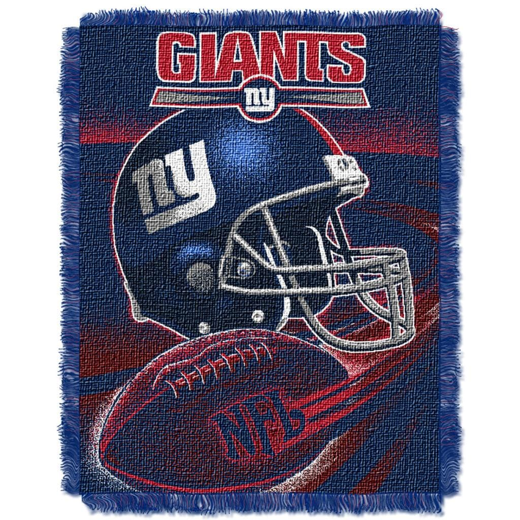 Northwest New York Giants Spiral Woven Jacquard Throw