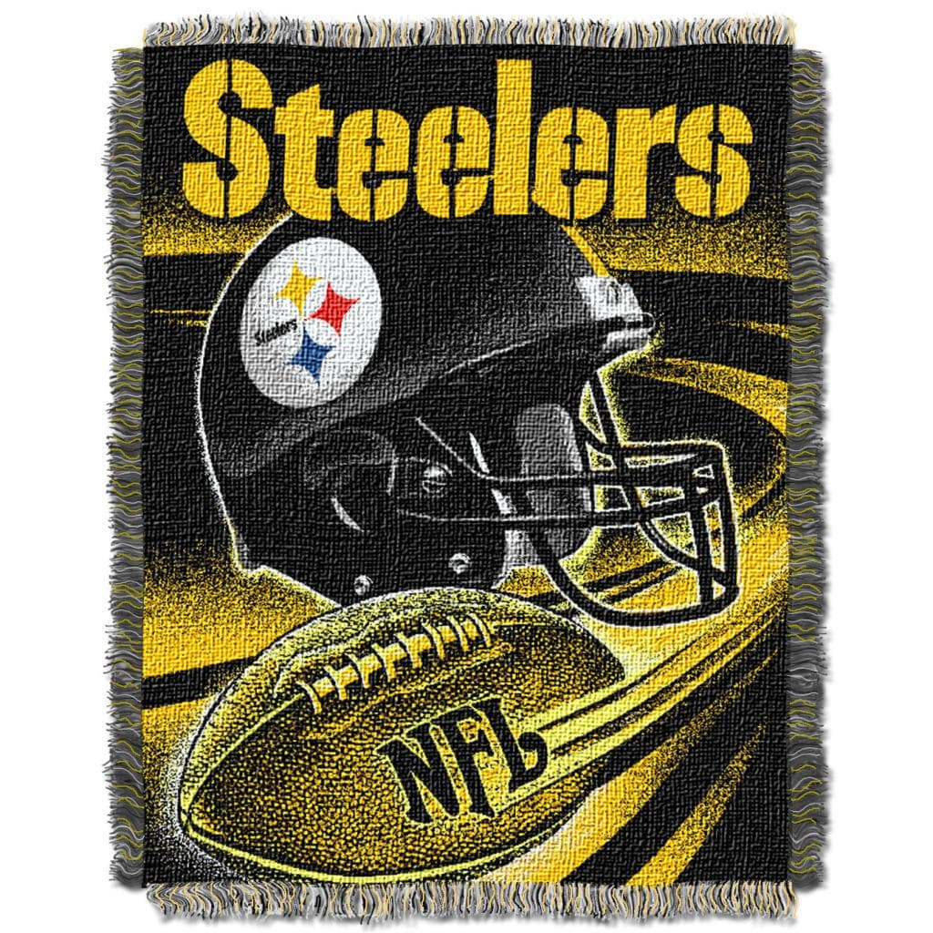 Northwest Pittsburgh Steelers Spiral Woven Jacquard Throw