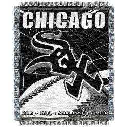 Northwest Chicago White Sox Woven Jacquard Blanket - Thumbnail 1
