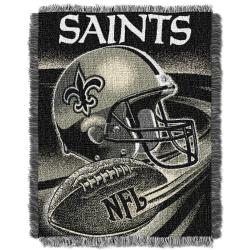 Northwest New Orleans Saints Spiral Woven Jacquard Throw - Thumbnail 1