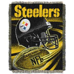 Northwest Pittsburgh Steelers Spiral Woven Jacquard Throw - Thumbnail 1