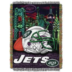 Northwest New York Jets Homefield Tapestry Throw - Thumbnail 2