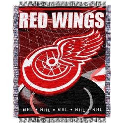 Northwest Detroit Red Wings Woven Jacquard Blanket - Thumbnail 2