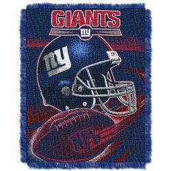 Northwest New York Giants Spiral Woven Jacquard Throw - Thumbnail 2