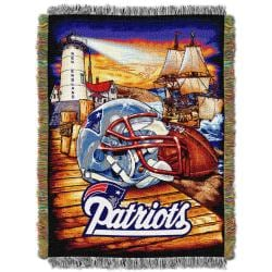 Northwest New England Patriots Homefield Tapestry Throw - Thumbnail 0