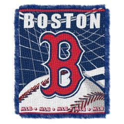 Northwest Boston Red Sox Woven Jacquard Blanket - Thumbnail 0