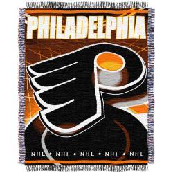 Northwest Philadelphia Flyers Woven Jacquard Blanket - Thumbnail 0