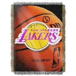 Northwest Los Angeles Lakers Photo Tapestry Throw - Thumbnail 0