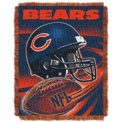 Northwest Chicago Bears Spiral Woven Jacquard Throw - Thumbnail 0