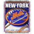Northwest New York Mets Woven Jacquard Blanket