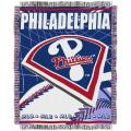 Northwest Philadelphia Phillies Woven Jacquard Blanket