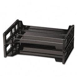 Universal Side Load Letter Desk Tray- 2 Tier-