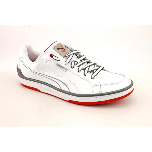 Puma Men's 'Evo Ducati Lo' Leather Casual Shoes