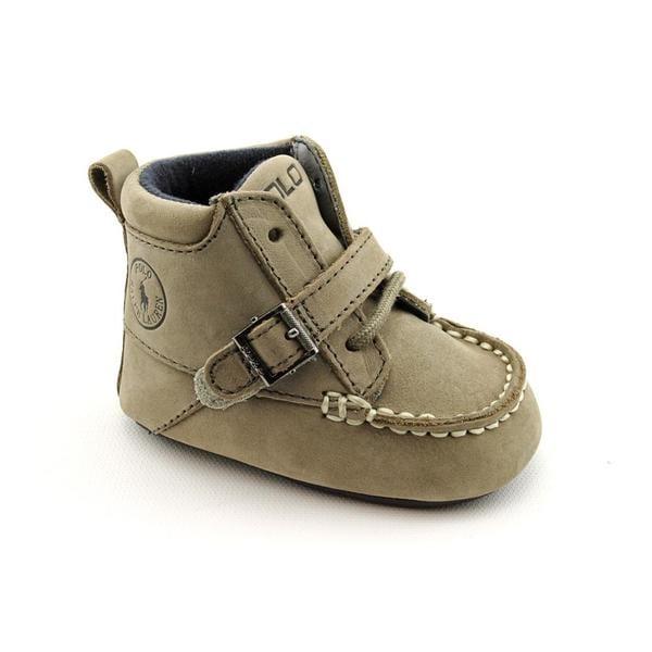 Ralph Lauren Layette Boy's 'Ranger Hi' Nubuck Boots