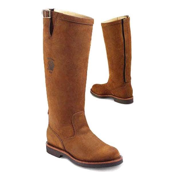chippewa s 23938 d 17 quot zipper leather boots size 11
