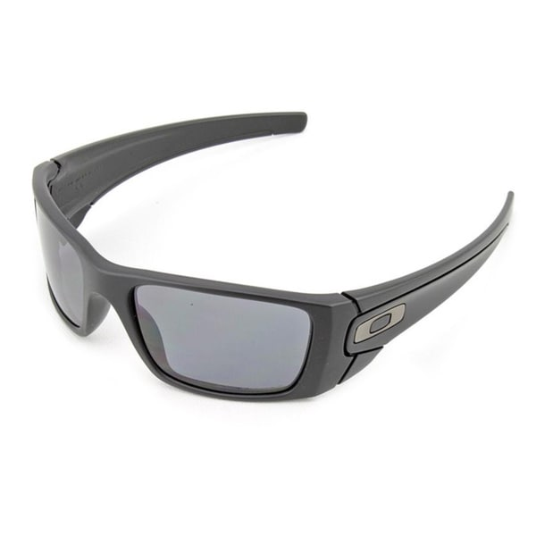 dc3a27b01008 Oakley Fuel Cell Matte Black Frame Grey Polarized Lens Sunglasses